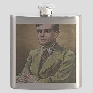 Alan Turing, British mathematician Flask
