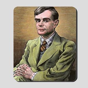 Alan Turing, British mathematician Mousepad