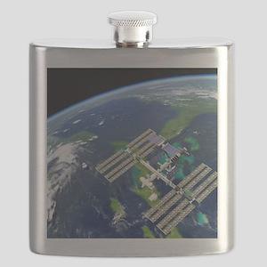 International Space Station Flask
