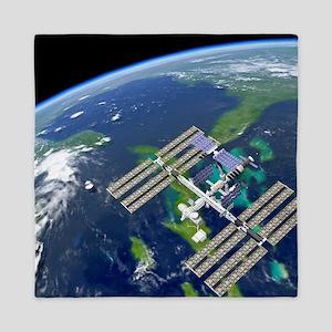 International Space Station Queen Duvet
