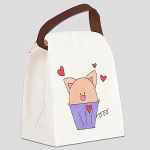 Piggie Muffin Canvas Lunch Bag