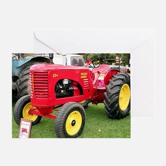 Massey-Harris Tractor Greeting Card