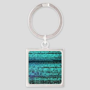 Internet computer code Square Keychain