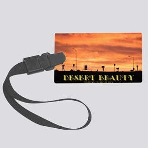 Desert Beauty Large Luggage Tag