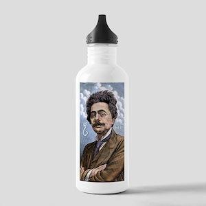 Albert Einstein, physi Stainless Water Bottle 1.0L