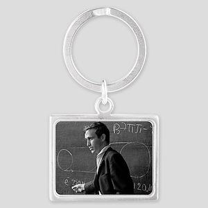 Alexander Skrinsky, Soviet phys Landscape Keychain