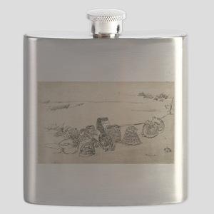 Lobster-pots - Whistler - 1886 Flask