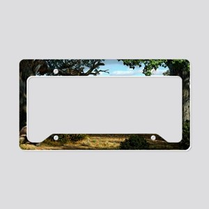Wildlife of the Miocene era,  License Plate Holder