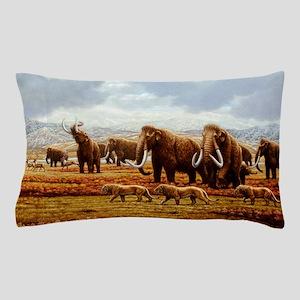 Woolly mammoths Pillow Case