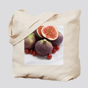 Whole and halved figs Tote Bag
