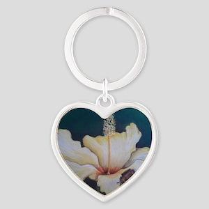 Coqui Frog Heart Keychain
