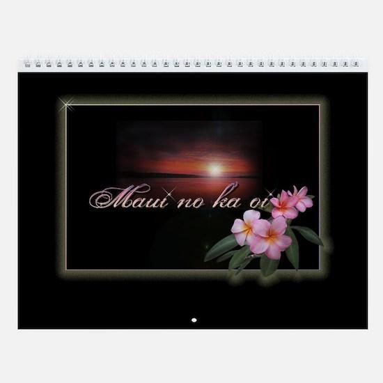 """Wall Calendar """"Maui no ka oi"""""""