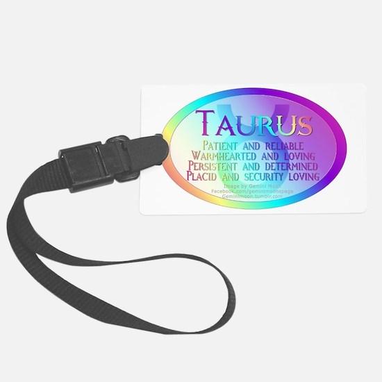 Taurus Luggage Tag