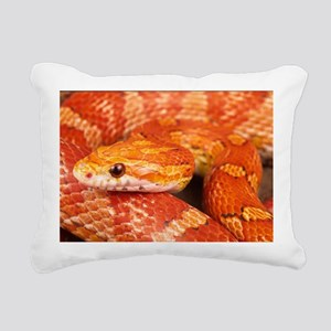 Corn Snake  Rectangular Canvas Pillow