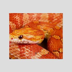 Corn Snake  Throw Blanket