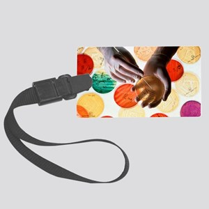 Antibiotic research Large Luggage Tag