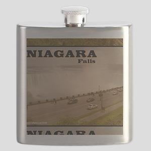 Niagara Falls Calendar Flask