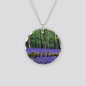 Twilight is Elemental Necklace Circle Charm