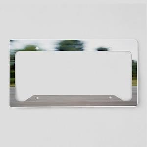 Jester electric car License Plate Holder