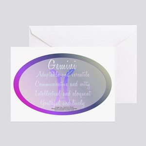 Gemini Astrology Greeting Card