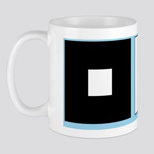 Irradiation illusion Mug