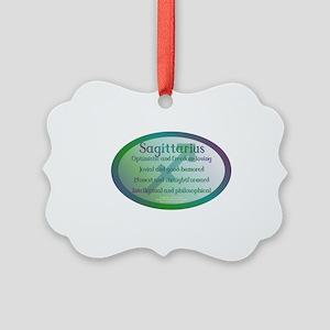 Sagittarius Picture Ornament