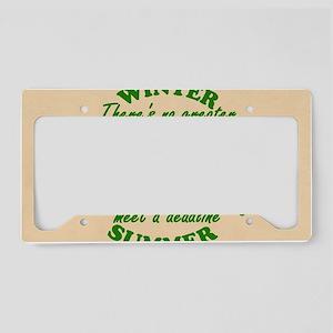 Banner License Plate Holder