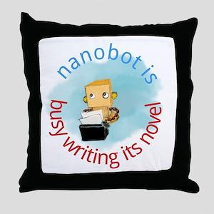 nanobot Throw Pillow