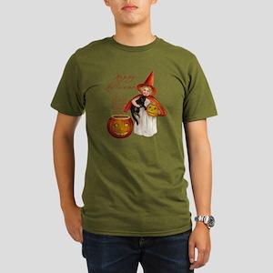 Vintage Halloween wit Organic Men's T-Shirt (dark)