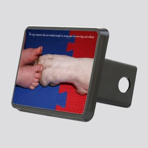 Pitter Patter Paws Rectangular Hitch Cover