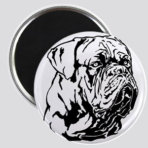 Dogue De Bordeaux. Magnet