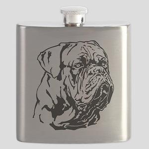 Dogue De Bordeaux. Flask