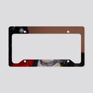 Bulldog Bauble License Plate Holder