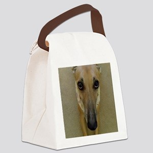 Look of Innocence  Canvas Lunch Bag