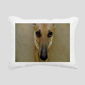Look of Innocence  Rectangular Canvas Pillow