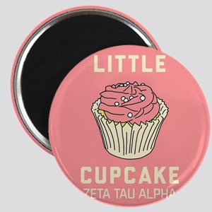Zeta Tau Alpha Little Cupcake Magnet
