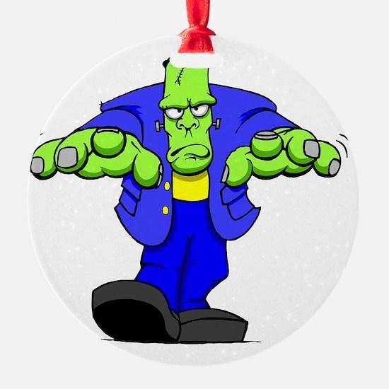 Cartoon Frankenstein Ornament