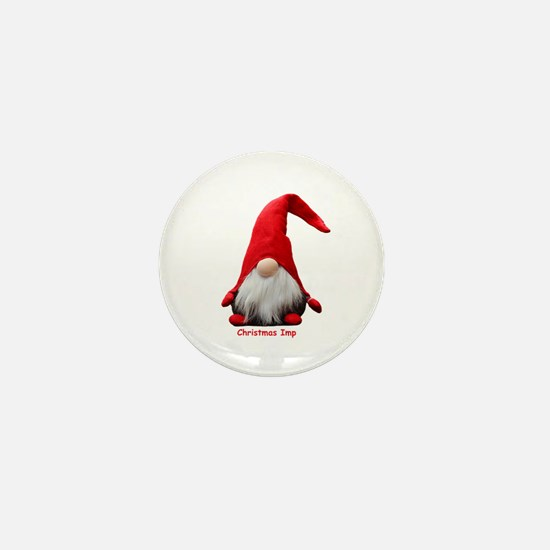 Christmas Imp Mini Button