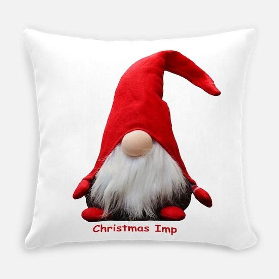 Christmas Imp Everyday Pillow