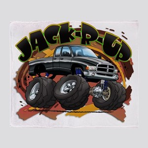 Black Jack-R-Up Ram Throw Blanket
