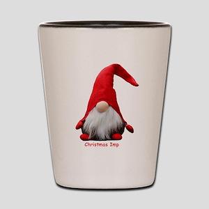 Christmas Imp Shot Glass