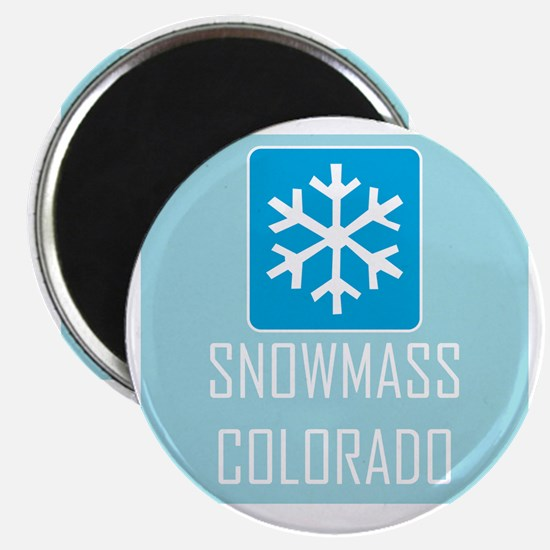 Snowmass Snowflake Magnet