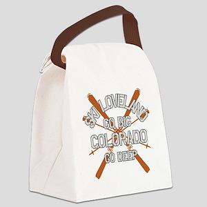 Go Big Loveland Canvas Lunch Bag