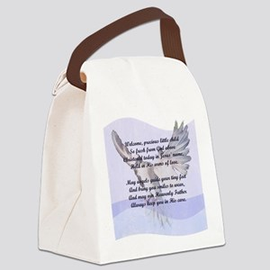 A Christening Gift for You! Canvas Lunch Bag