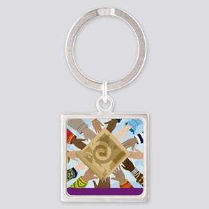 Apparel Square Keychain