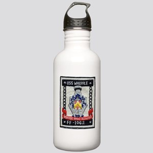 uss whipple ff patch t Stainless Water Bottle 1.0L