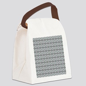 Fancy Painted Art Pattern Canvas Lunch Bag