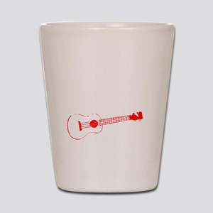 Zombie Ukulele Player Shot Glass