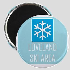 Loveland Snowflake Magnet