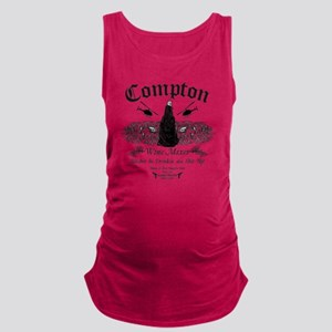 Compton Wine Mixer Maternity Tank Top